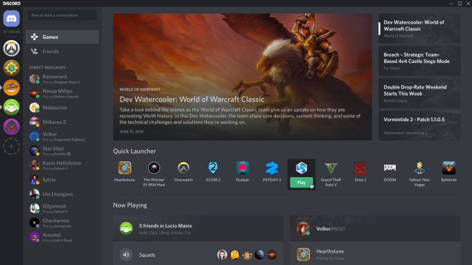 Discord Sets Sights on Steam, Adds
