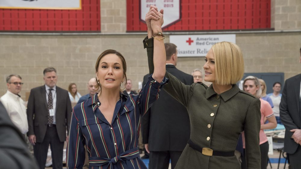House Of Cards Diane Lane On Season 6 With Robin Wright Variety
