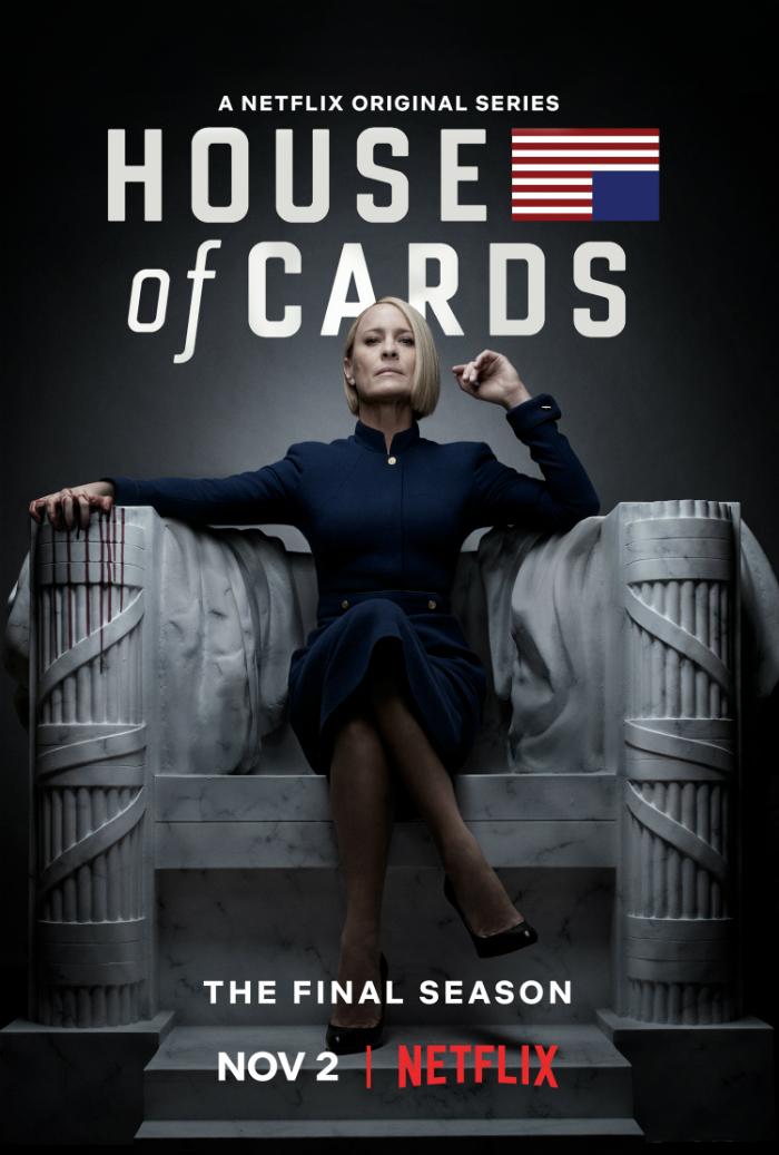 House of Cards Season 6 Robin Wright