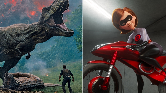 Jurassic World Incredibles 2 Summer Box