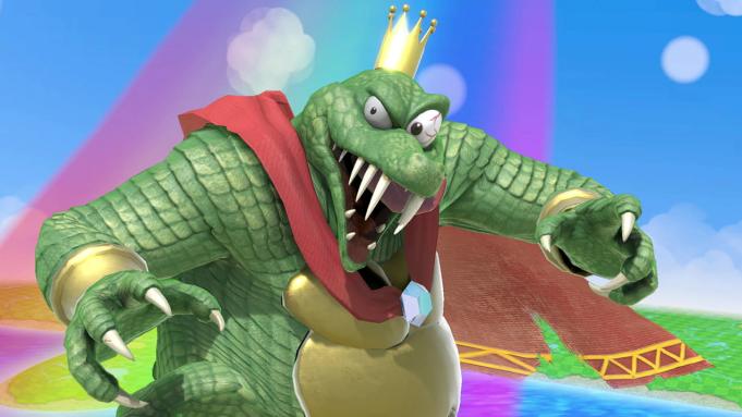 King K. Rool Vs. Snake is
