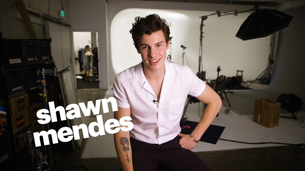 Shawn Mendes Self Titled T-shirt