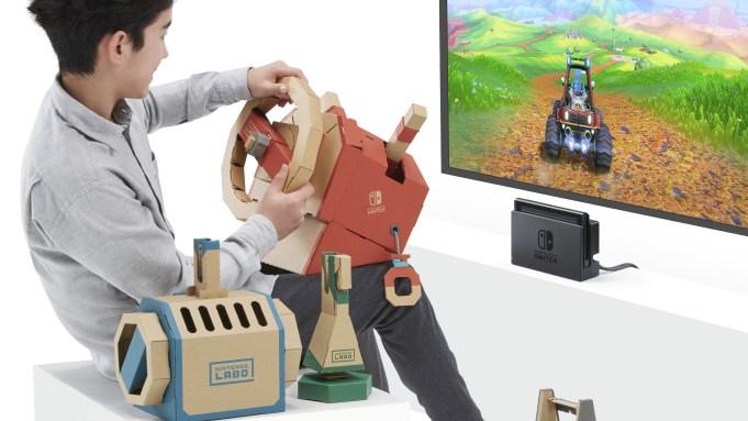 Nintendo Releases Labo Vehicle Kit Details
