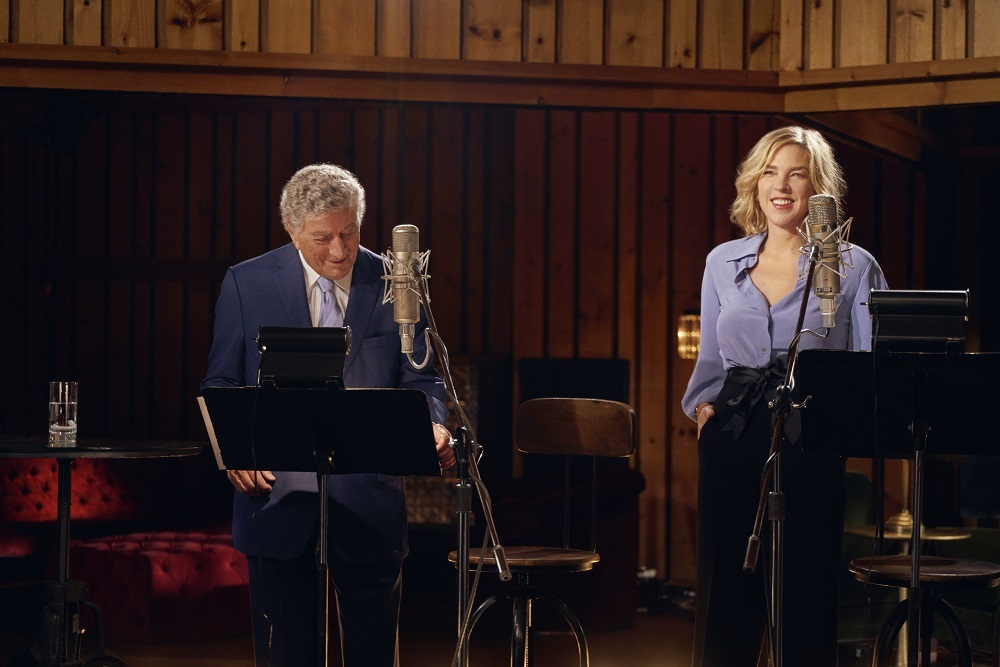 Tony Bennett and Diana Krall Preview First Joint Album With Gershwin Classic (EXCLUSIVE)