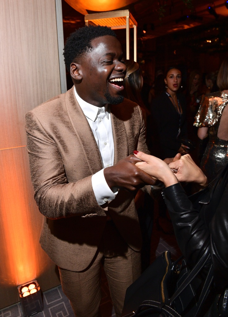 TORONTO, ON - SEPTEMBER 08: Daniel Kaluuya attends 2018 HFPA and InStyle's TIFF Celebration at the Four Seasons Hotel on September 8, 2018 in Toronto, Canada. (Photo by George Pimentel/Getty Images for HFPA)