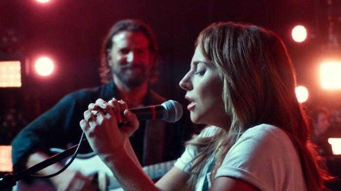 """Lady Gaga sings in """"A Star is Born"""""""