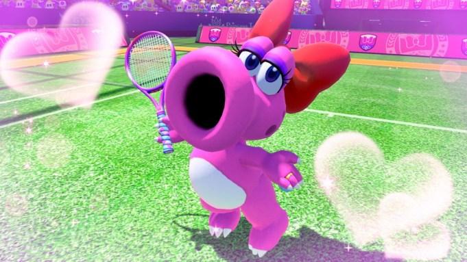 New 'Mario Tennis Aces' Character Birdo