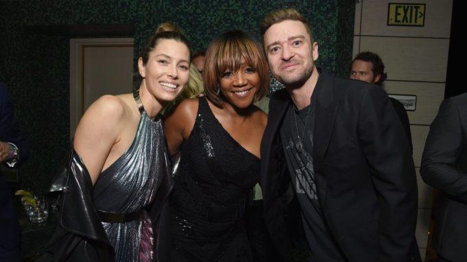 Jessica Biel, Justin Timberlake, Tiffany Haddish