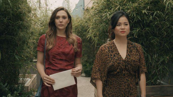 Elizabeth Olsen and Kelly Marie Tran