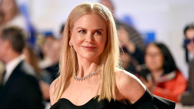 Nicole Kidman attends a premiere for