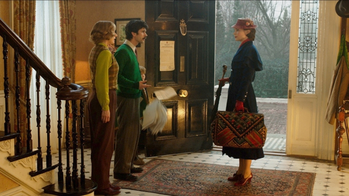 Emily Blunt is Mary Poppins, Emily
