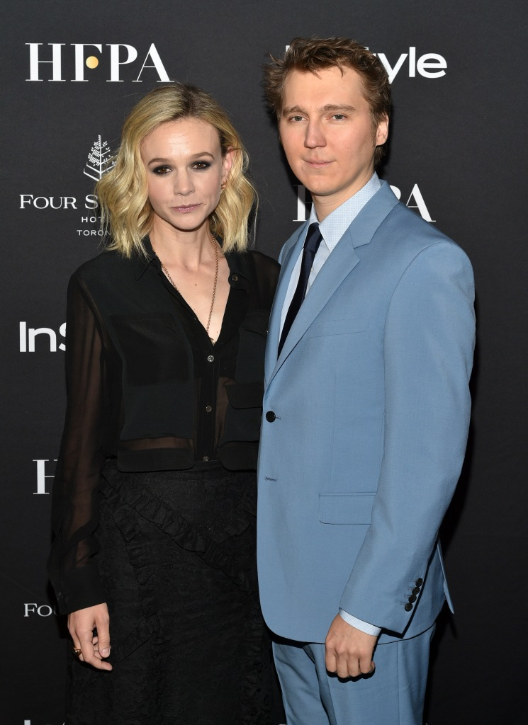 Carey Mulligan and Paul Dano HFPA and InStyle party, Arrivals, Toronto International Film Festival, Canada - 08 Sep 2018