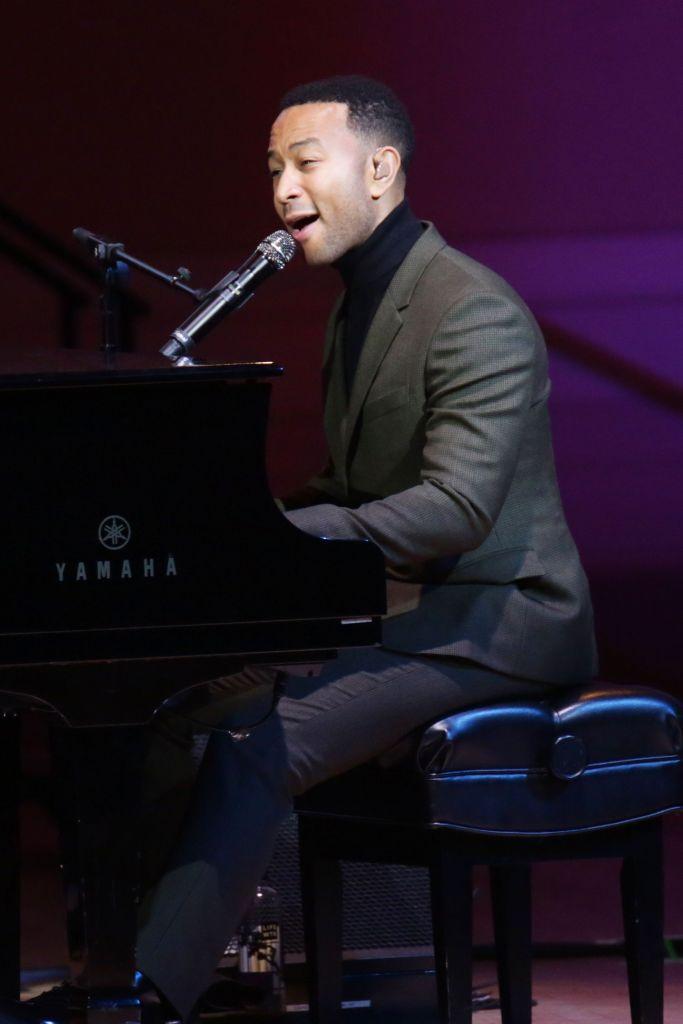 John Legend Good + Foundation Benefit: An Evening of Comedy and Music, Inside, New York, USA - 12 Sep 2018
