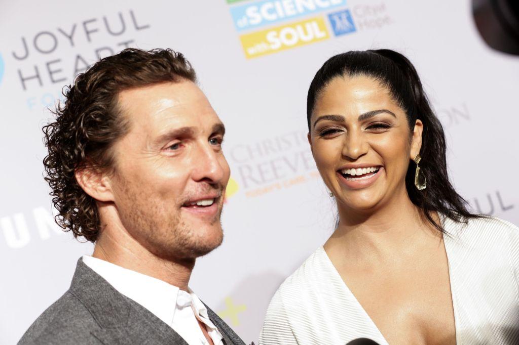 Matthew McConaughey, Camila Alves Samsung Annual Charity Gala, New York, USA - 27 Sep 2018