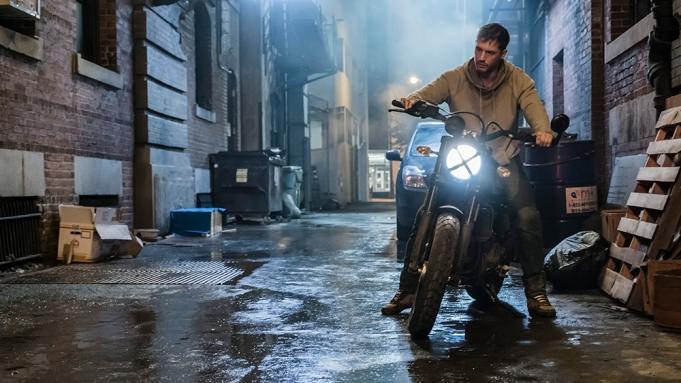 Eddie Brock (Tom Hardy) in Columbia