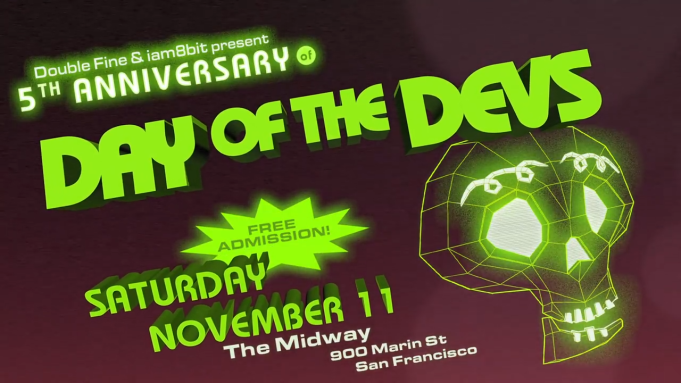 Double Fine and iam8bit's 6th Annual