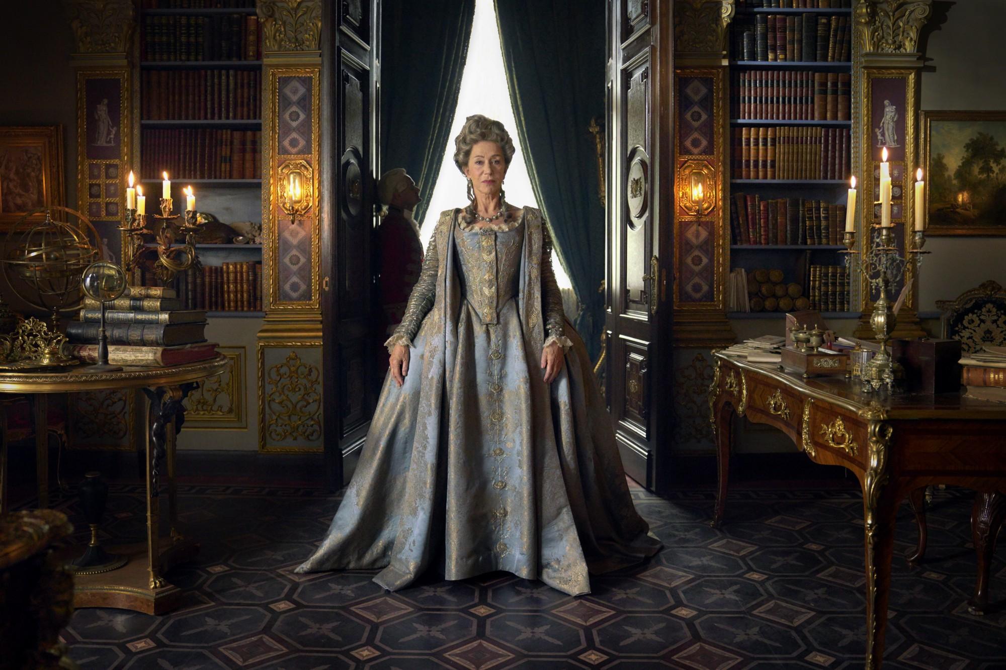 Hellen Mirren as Catherine the Great