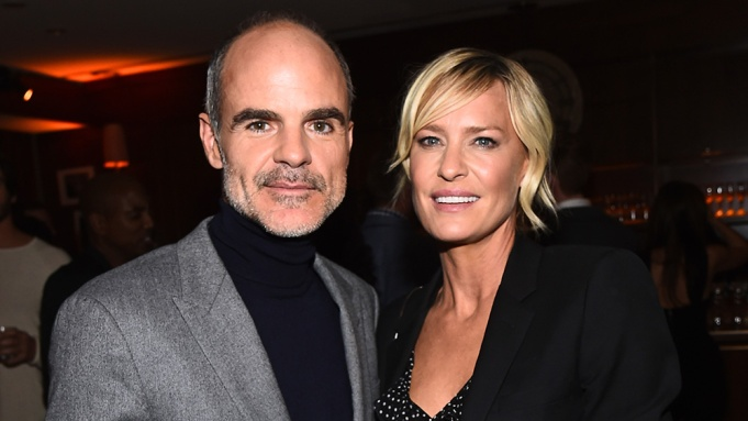 Michael Kelly and Robin Wright'House of