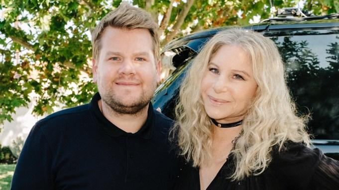 Barbra Streisand joins James Corden for