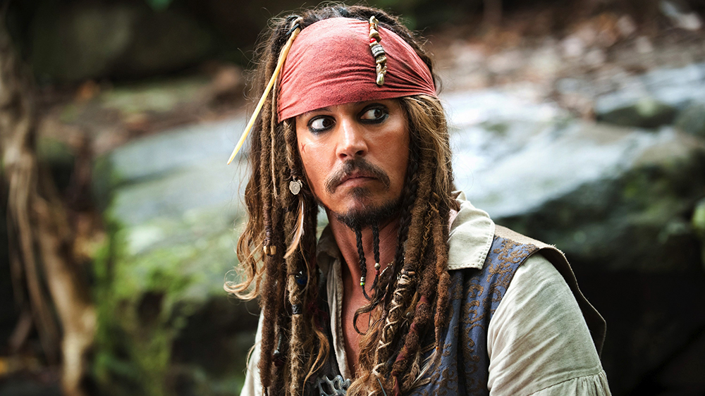 """Captain Jack Sparrow (Johnny Depp) in """"Pirates of the Caribbean: Dead Man's Chest"""""""