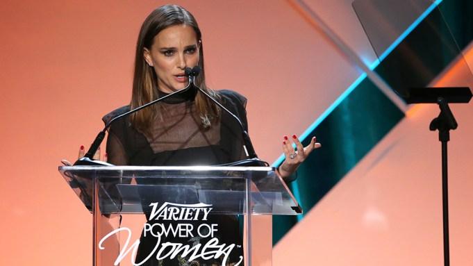 Natalie Portman attends Variety's Power of