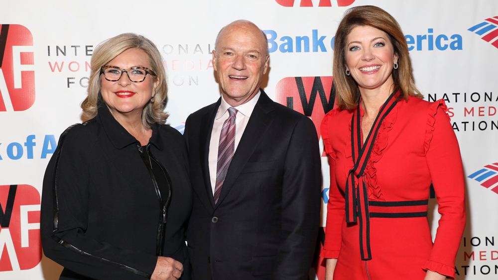 Cynthia McFadden, Phil Griffin, Norah O'Donnell The International Women's Media Foundation's Courage in Journalism Awards, New York, USA - 25 Oct 2018
