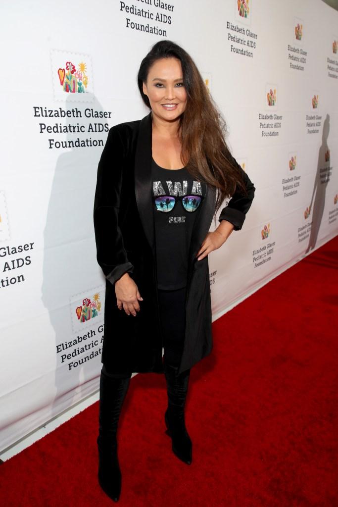 Tia Carrere Elizabeth Glaser Pediatric AIDS Foundation 30th Anniversary, Arrivals, Los Angeles, USA - 28 Oct 2018