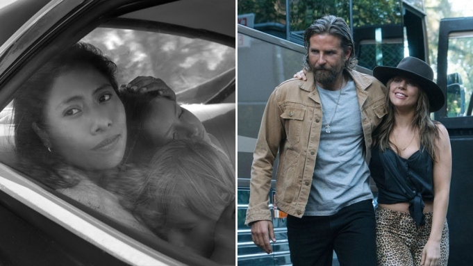 Oscars: 'Roma' and 'A Star Is