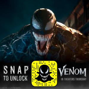 Venom Snapchat AR