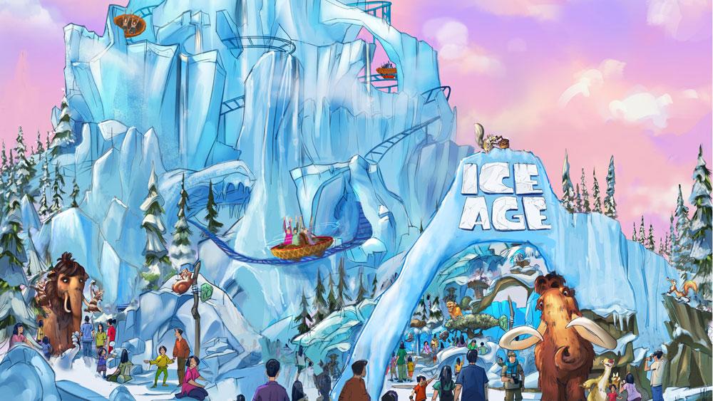 Ice Age Twentieth Century Fox World