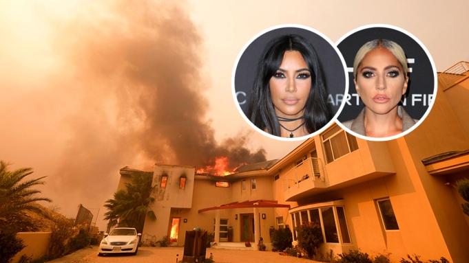 Kim Kardashian West Lady Gaga