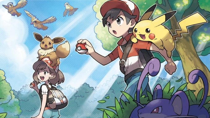 'Pokemon Let's Go Eevee' is a