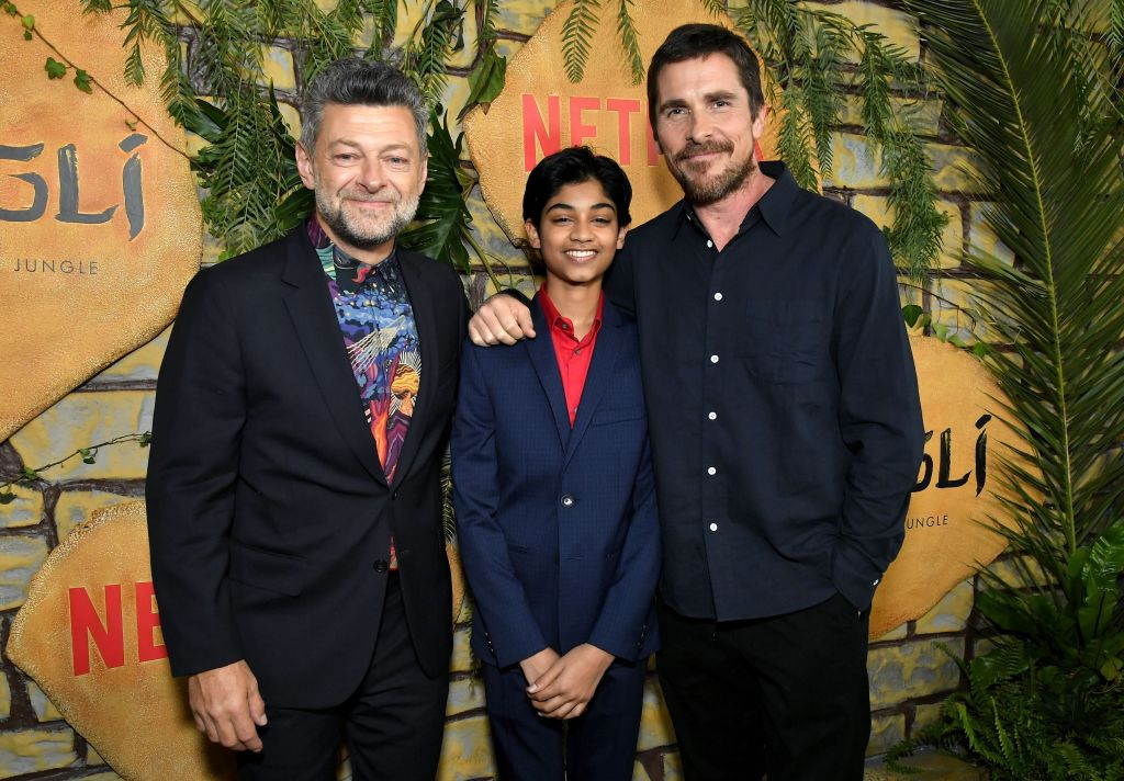 Andy Serkis, Rohan Chand and Christian Bale 'Mowgli' film premiere, Los Angeles, USA - 28 Nov 2018