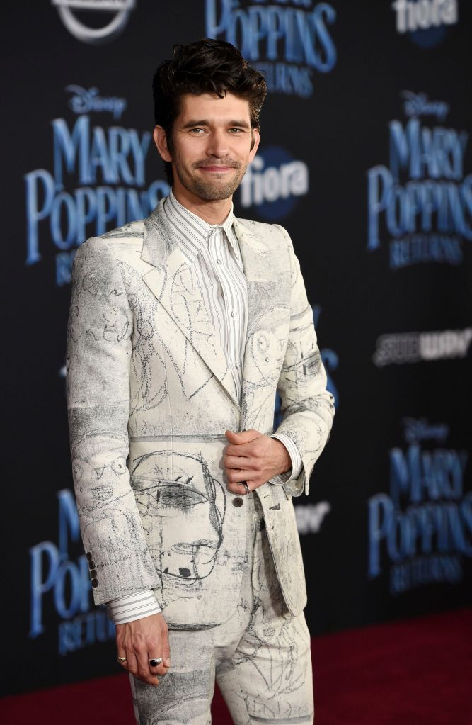 """Ben Whishaw, a cast member in """"Mary Poppins Returns,"""" poses at the premiere of the film at the Dolby Theatre, in Los Angeles LA Premiere of """"Mary Poppins Returns"""", Los Angeles, USA - 29 Nov 2018"""