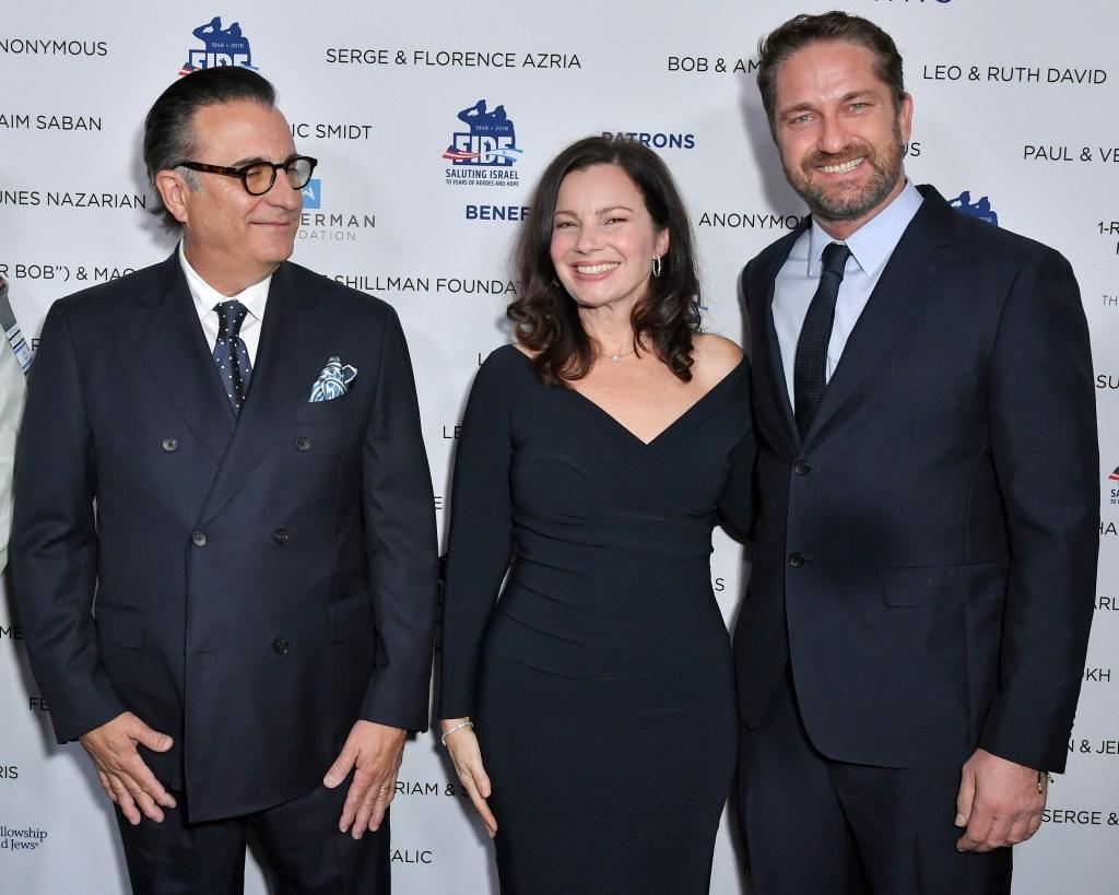 Andy Garcia, Fran Drescher and Gerard Butler Friends of the Israel Defense Forces western regional gala, Los Angeles, USA - 01 Nov 2018