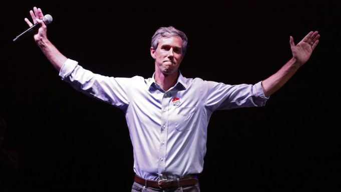 Democratic Senate candidate Beto O'Rourke at