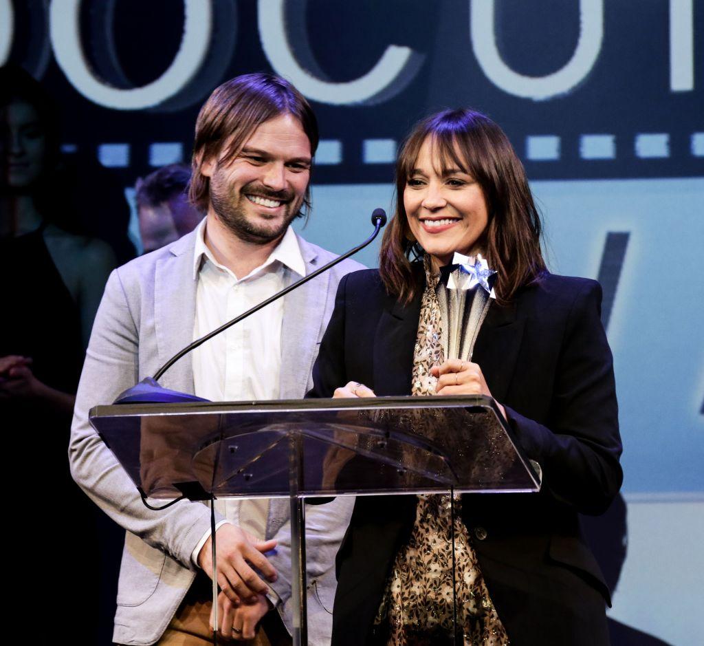 Alan Hicks, Rashida Jones Critics Choice Documentary Awards, Show, New York, USA - 10 Nov 2018