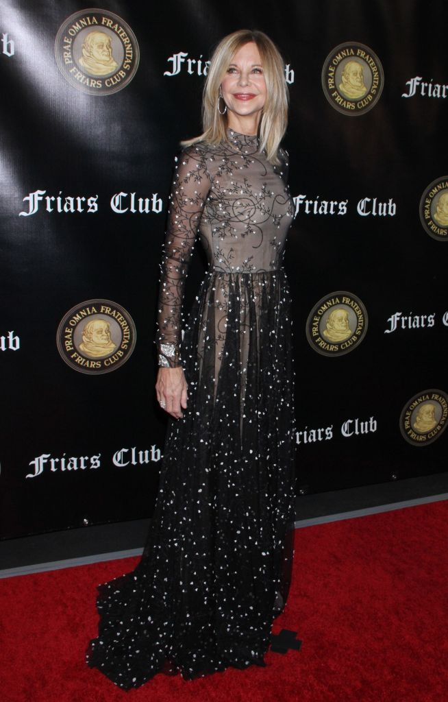 Meg Ryan Friars Club honors Billy Crystal with Entertainment Icon Award, Arrivals, New York, USA - 12 Nov 2018