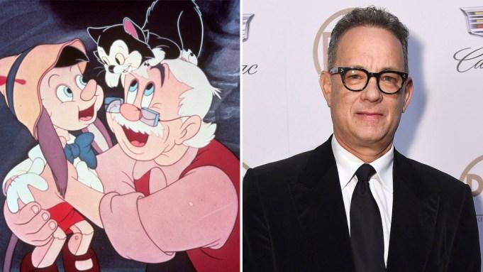 Tom Hanks Pinocchio