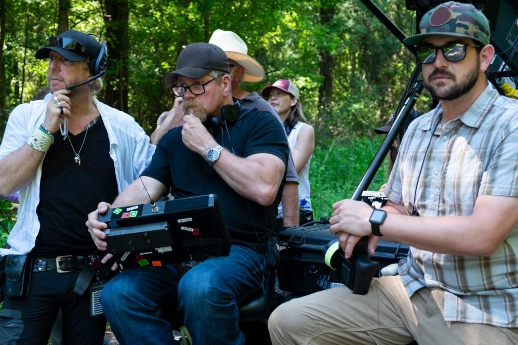 BTS, Michael Cudlitz- The Walking Dead _ Season 9, Episode 7 - Photo Credit: Gene Page/AMC