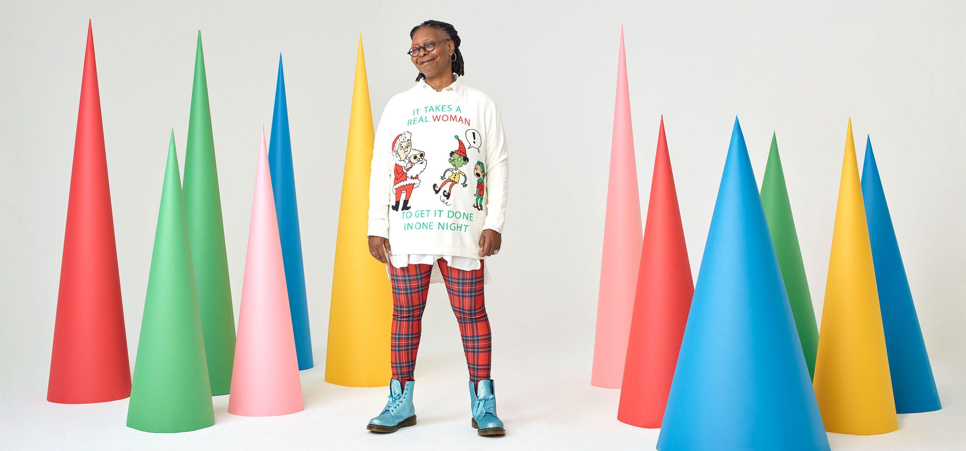 whoopi goldberg holiday sweaters zappos