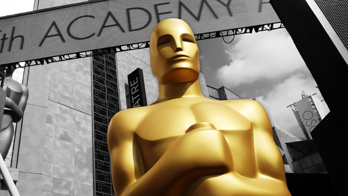Oscars Placeholder Black and White