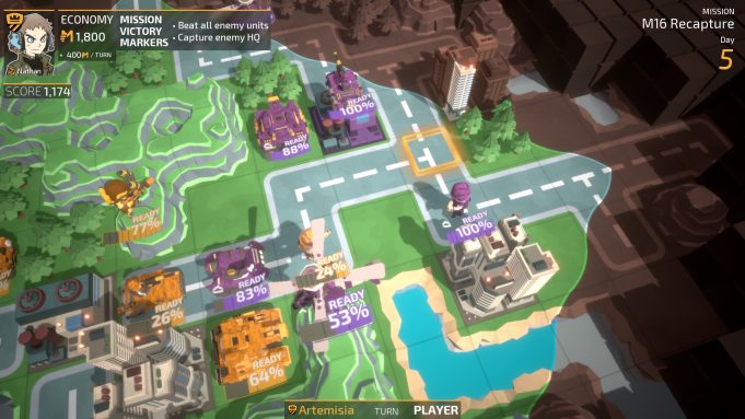 'Tiny Metal' Multiplayer, New Act Comes