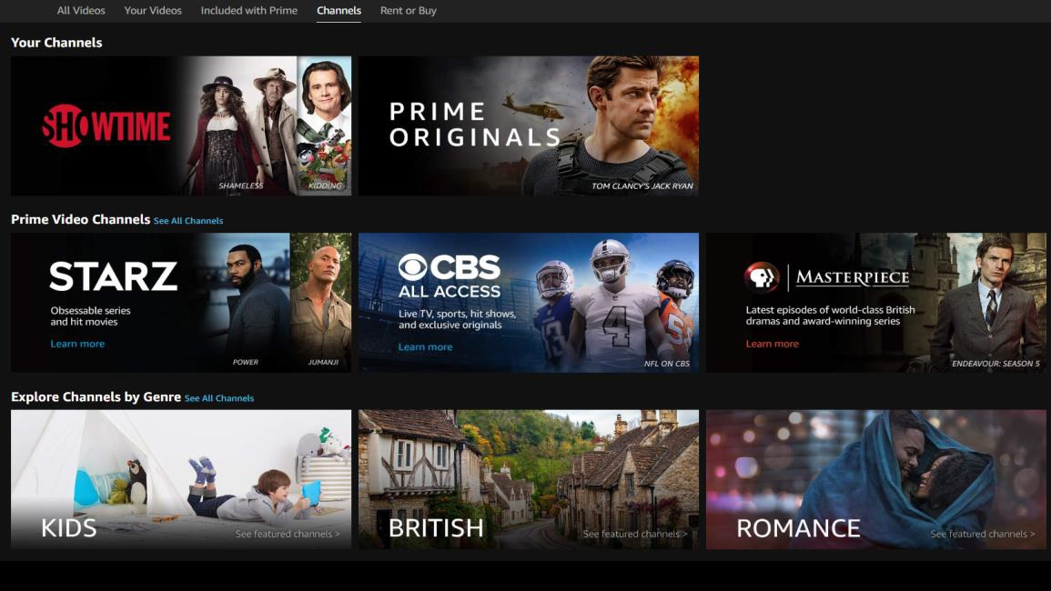 Amazon Prime Video Channels To Generate 1 7b In 2018 Analysts Variety