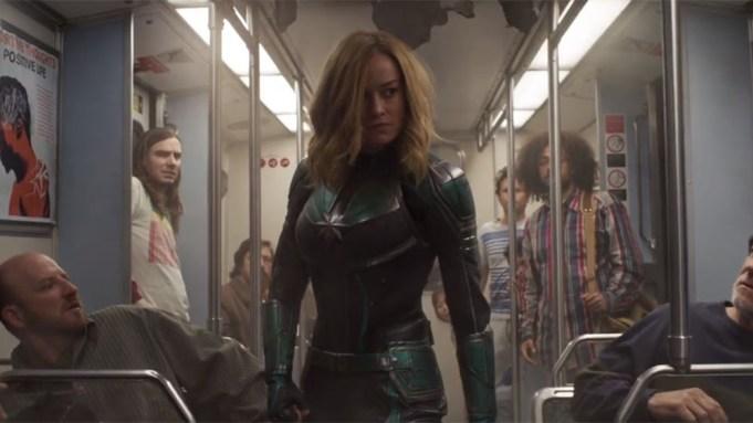 'Captain Marvel' Trailer Debuts During Super