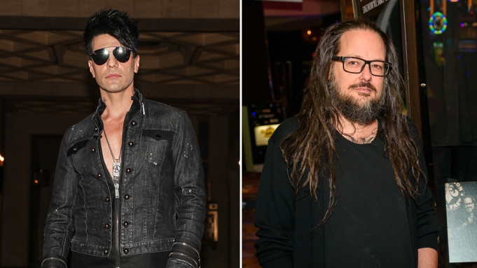 Criss Angel Directs Korn's Jonathan Davis