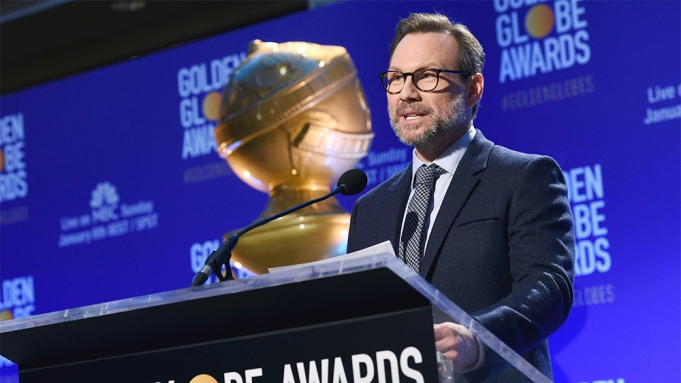 Christian Slater announces nominations for the