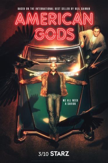 American Gods Season 2 Key Art