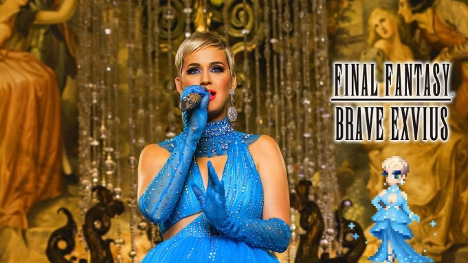 Katy Perry Joins 'Final Fantasy Brave