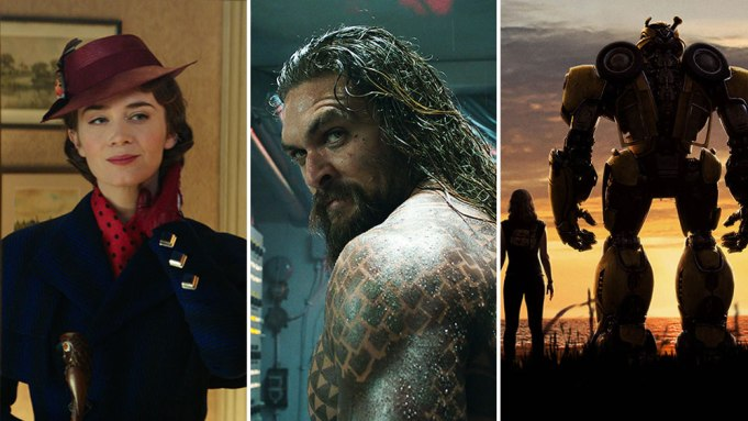 'Aquaman' Leads Box Office, 'Mary Poppins